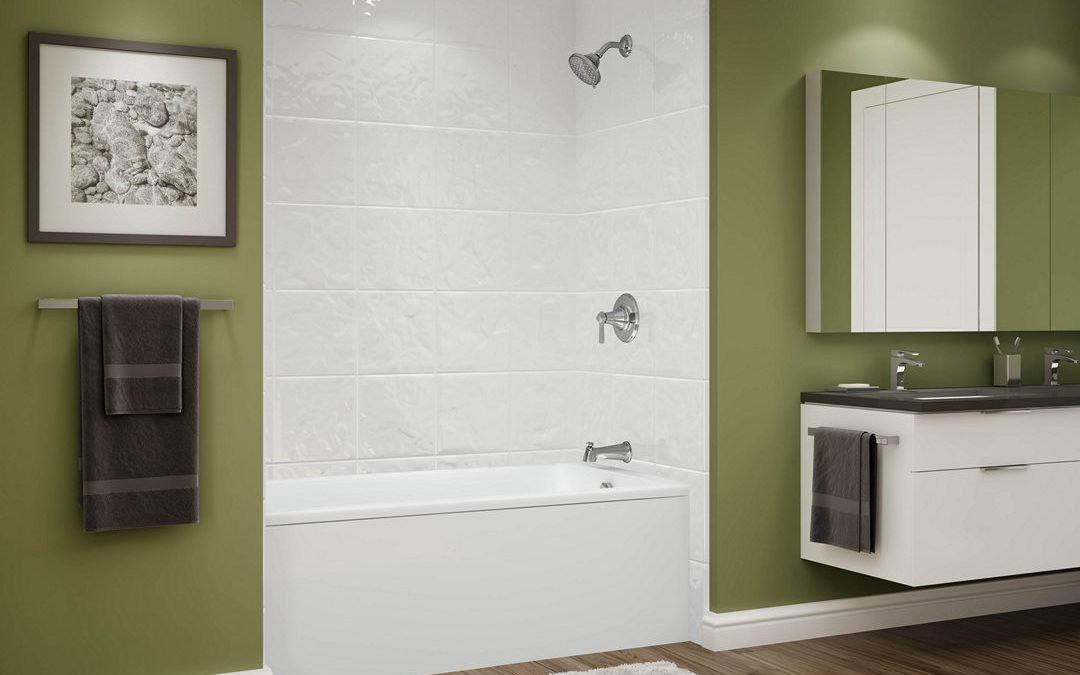 Relaxing Soaker Tub with 12×12 Tile Walls for $4,499