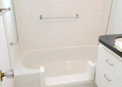 Step In Tub Project in Condo