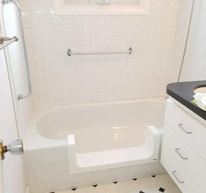 Step In Tub Project in Condo