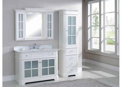 V Heritage Linen Cabinet