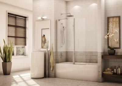 d Fleurco Siena tub sheild